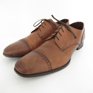 Ermenegildo Zegna Cap Toe Oxfords