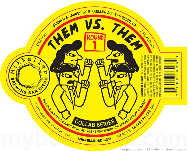 Mikkeller San Diego & Root + Branch Collaborate On Them vs. Them
