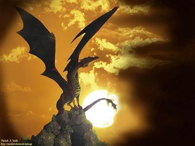 Dragon Sun, Dragons
