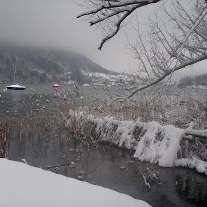 8 février - Neige sur la base