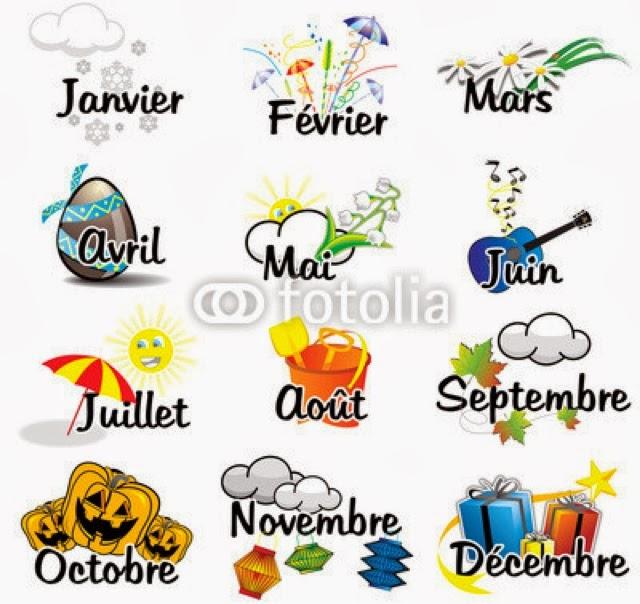 Le blog du jaime fran ais les mois de l 39 ann e les quatre saisons - Saisons de l annee ...