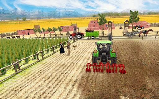 Real Farming Tractor Farm Simulator: Tractor Games android2mod screenshots 3