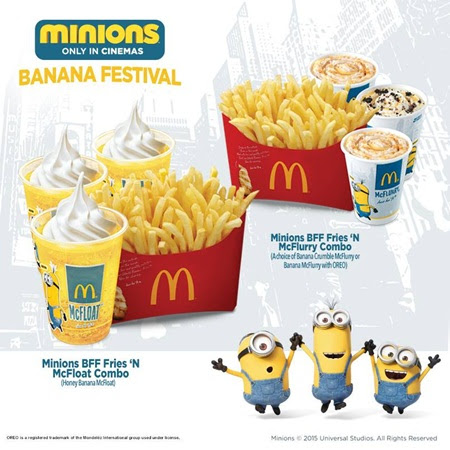 announcement, toys, happy meal toys, minions
