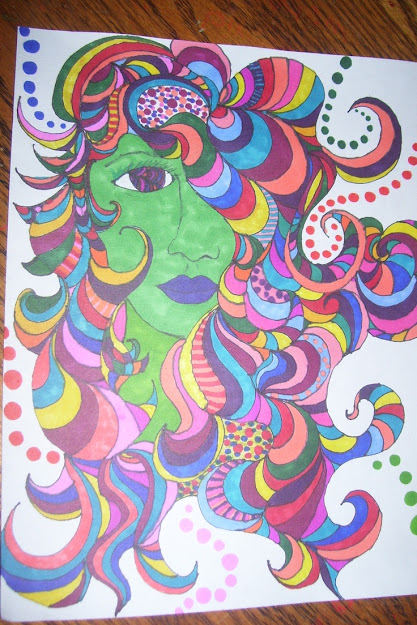 My Latest Sharpie Art Please Check My Page Out On Facebook Sharpie Art By  Emily Moore