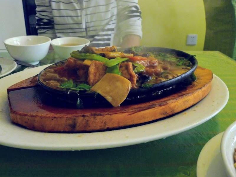 Xiamen. Délicieux tofu...