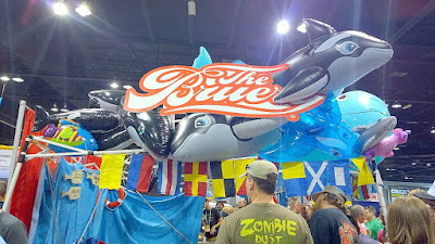 Other brewery booths of GABF 2015 - The Bruery booth decor