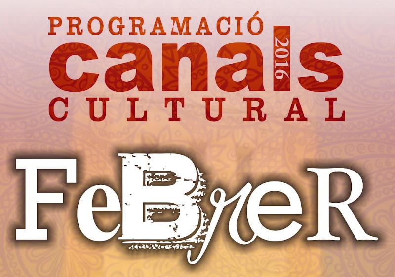 Programació Cultural Febrer 2016