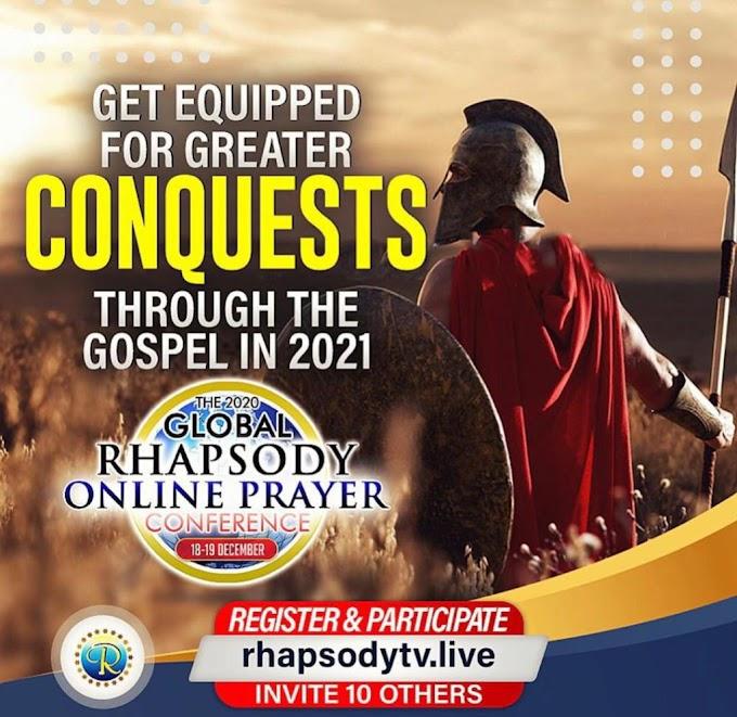 Live Stream: Rhapsody Online Prayer Conference 2020