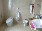 Marble restroom