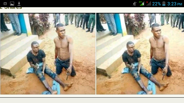 Notorious Robber 'Enugu Road' Arrested As Criminal Girlfriend Flees. Photos