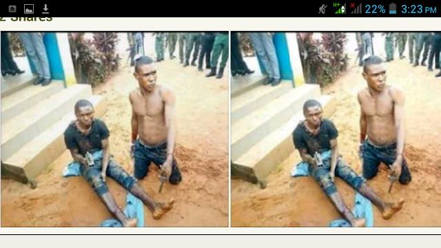 Notorious Robber 'Enugu Road' Arrested As Criminal Girlfriend Flees. Photos