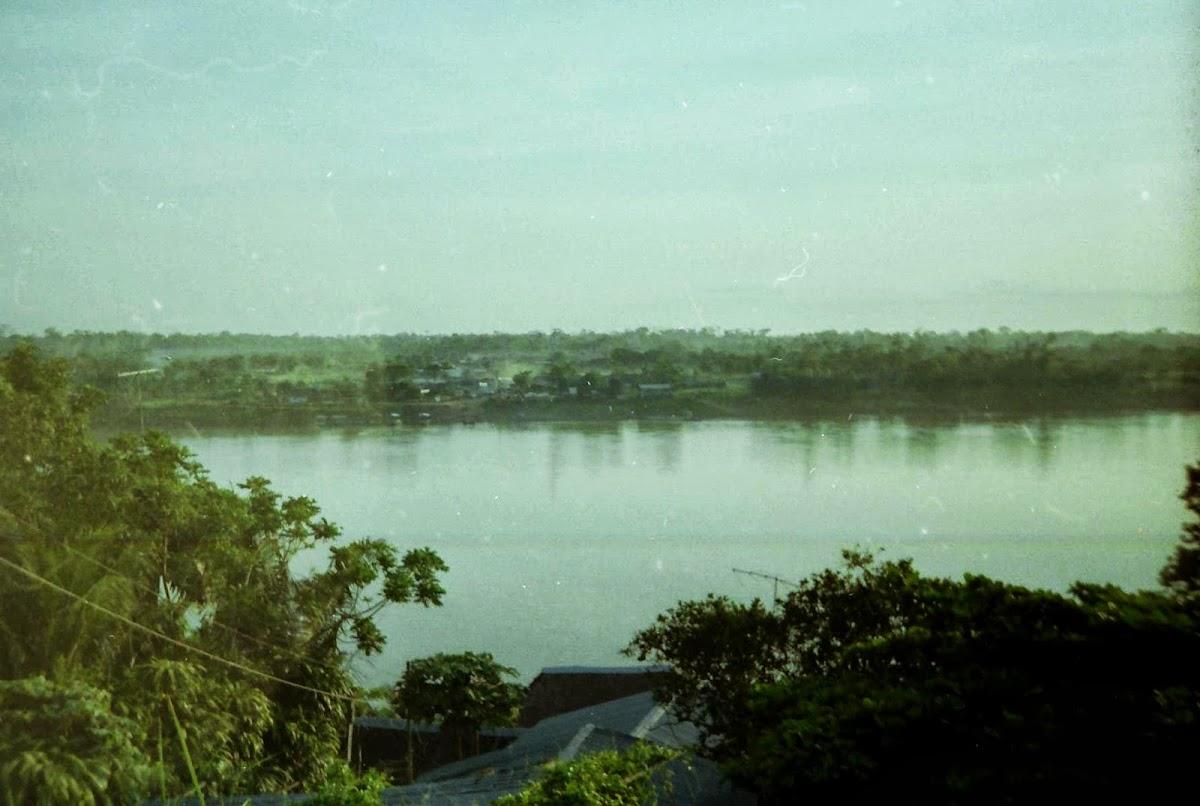 Der Rio Madre de Dios in Puerto Maldonado