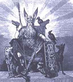 Odin Asgard Lord, Asatru Gods And Heroes