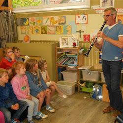 Op stap met klarinet en doedelzak