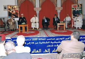 Forum Mundial de la Mashishiya Shadhiiliya. Sabios musulmanes de diferentes países.