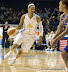 Tamera Young #1 drives to the basket. (WNBA: Chicago Sky 59 v. New York Liberty 64, Allstate Arena, Rosemont, IL., July 6, 2012)