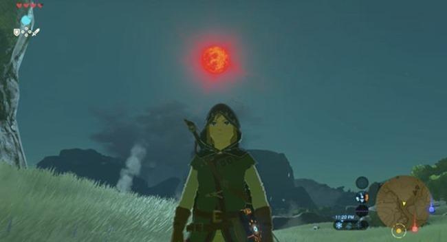 Unglücklicher Zelda: Breath of the Wild Spieler erlebt während des letzten Bosskampfes einen Blutmond