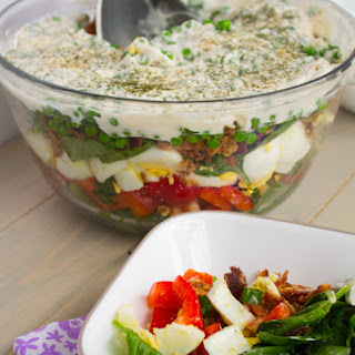 Layered Salad.