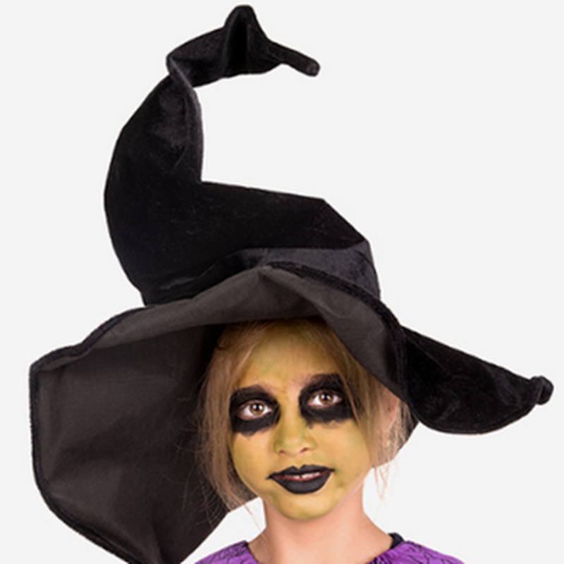 Como hacer un maquillaje de bruja para niña