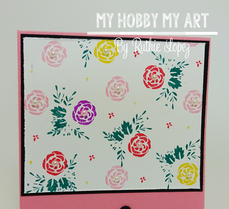Latina Crafter, Latinas Arts and Craft, Blog Hop de Primavera, Ruthie Lopez 8