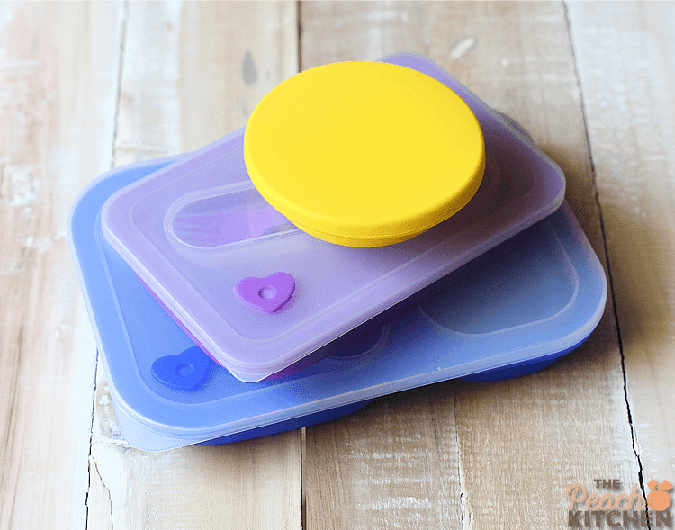 Collapsible Silicone Lunchbox from Baby Lab