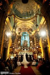 Foto 0691. Marcadores: 29/05/2010, Casamento Fabiana e Joao, Igreja, Igreja Nossa Senhora Monte do Carmo, Rio de Janeiro