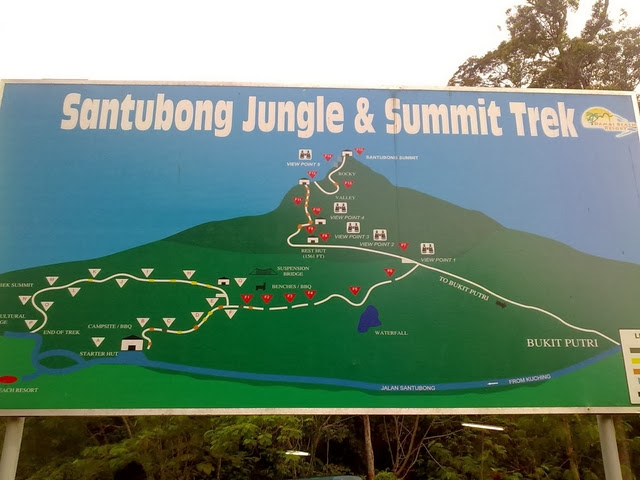 Gunung-Santubong-Mount-Santubong