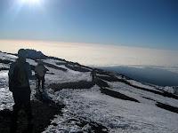 Kili Climb Day 5 - A long way back down...