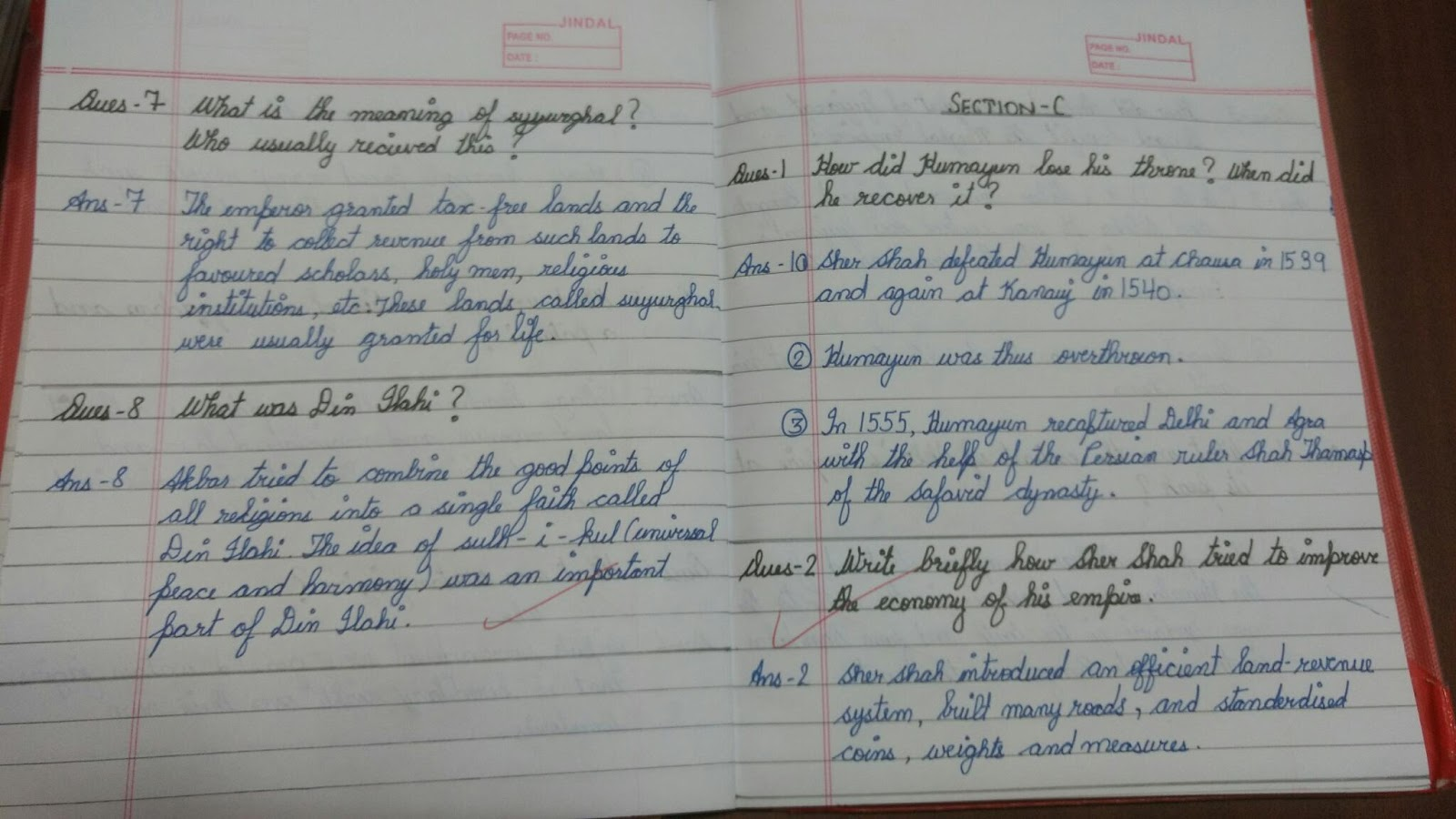 Priscillablogspotgroup Sa 1 Class 7 History The Mughal Empire