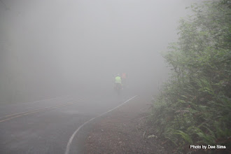 Photo: (Year 2) Day 349 - Thick Fog at the Top, As We Start the Descent