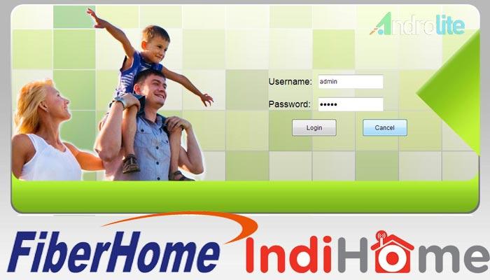 Cara Setting / Ganti Password WiFi GPON Fiberhome Indihome