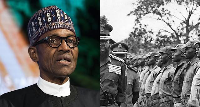 President Buhari Approves Pension Payment To Biafran War Veterans