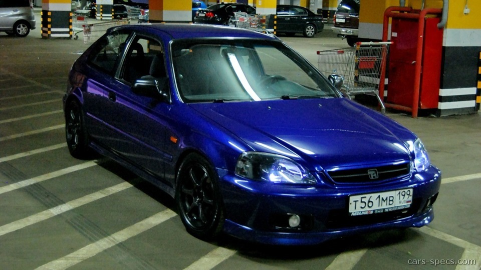 1999 Honda Civic Hatchback Specifications Pictures Prices