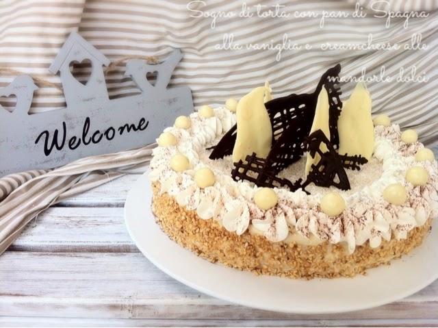 Pulcino Goloso: Sogno di torta con pan di Spagna alla vaniglia e ...