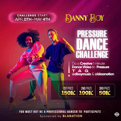 Danny Boy's Pressure Challenge