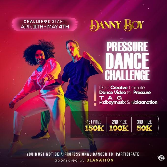 Win Big! Enter The ''Pressure Dance Challenge'' Win Up To N150K