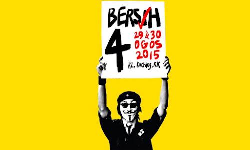 Bersih 4.0 Pada 29 dan 30 Ogos 2015 Jejas Pelancongan