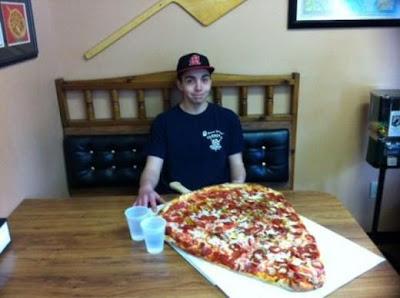 Mais uma fatiazinha de pizza?