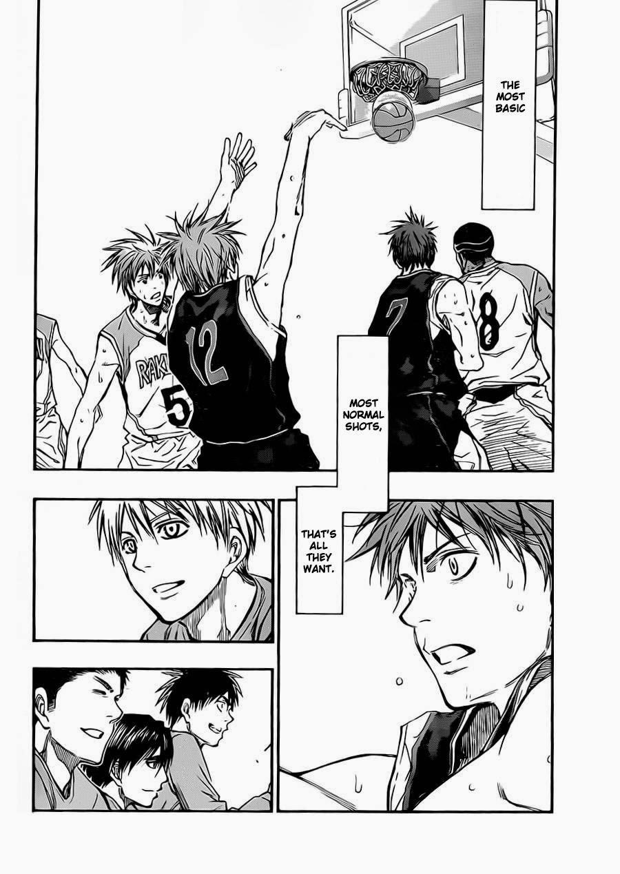 Kuroko no Basket Manga Chapter 240 - Image 18