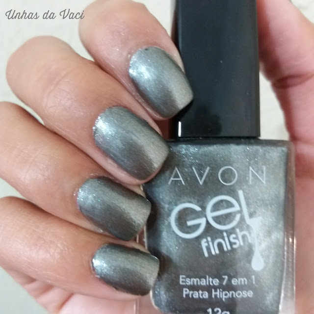 Prata Hipnose - Avon Gel Finish