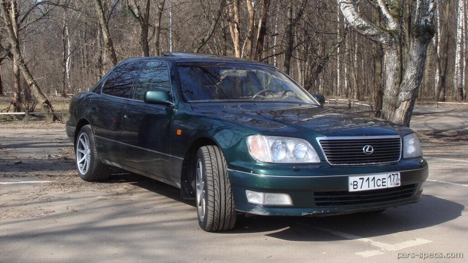1999 lexus ls400 horsepower