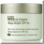 Dr Andrew Weil for Origins Skin Tone Correcting Oil Free Moisturizer SPF 30