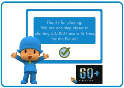 pocoyo, my favorite things, green ideas, earth hour