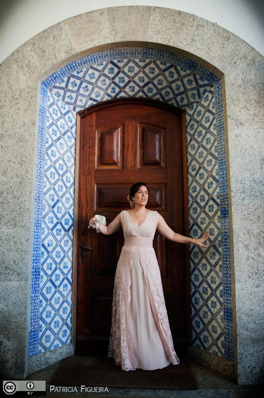 Foto de casamento 0197 de Valeria e Leonardo. Marcações: 27/11/2010, Casamento Valeria e Leonardo, Fotos de Vestido, Madalena Salim, Rio de Janeiro, Vestido, Vestido de Noiva.