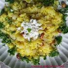 Batata poha-Beaten rice with potato