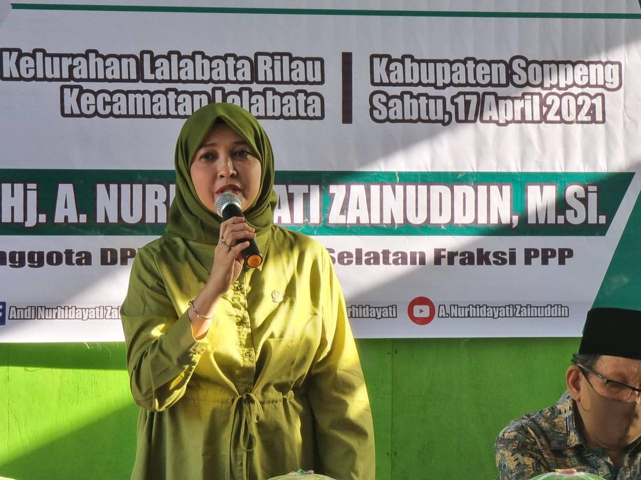 Begini Ungkapan Legislator Sulsel Andi Nurhidayati di Hari Kartini 2021