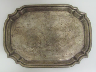 Sterling Silver Poole Serving Tray