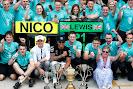 Mercedes 1-2 team celebration