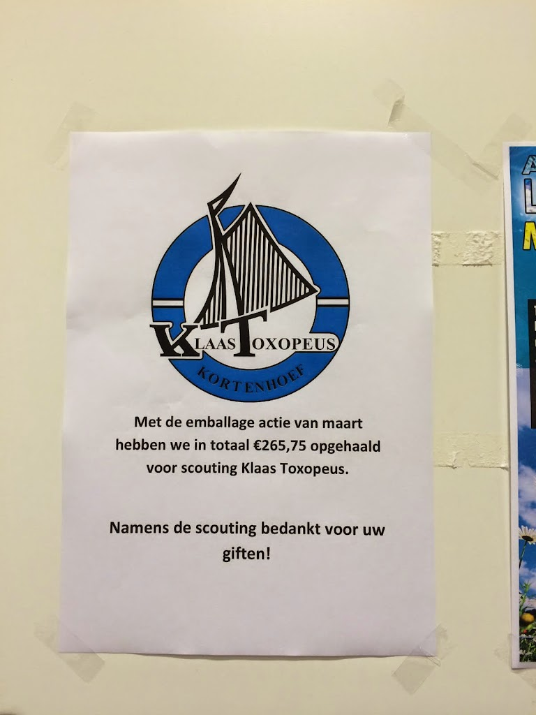 Albert Heijn - Kortenhoef - Bedankt !!