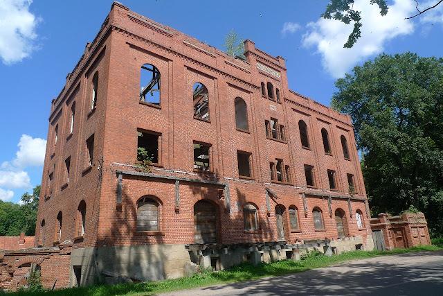 Gerdauen, Железнодорожный, орденская мельница